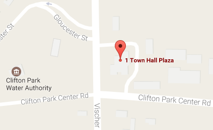 Clifton Park Town Hall Map Location